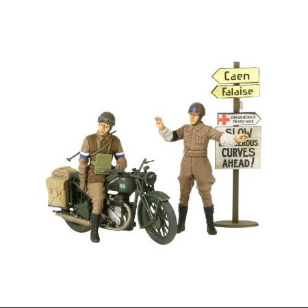35316 1/35 British BSA M20 Motorcycle w/Military Police Multi-Colored