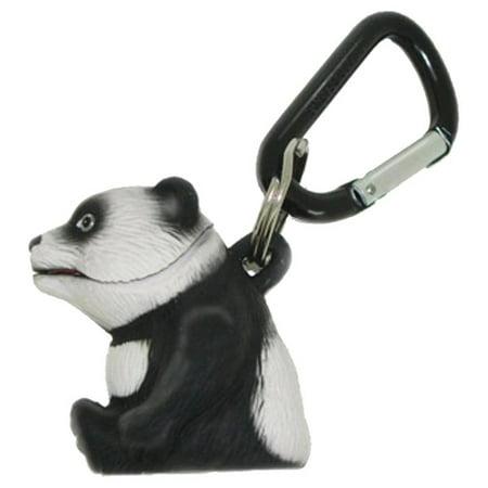 Wildlight Animal Carabiner Flashlight - Panda | Animal Keychain Lights](Panda Keychain)