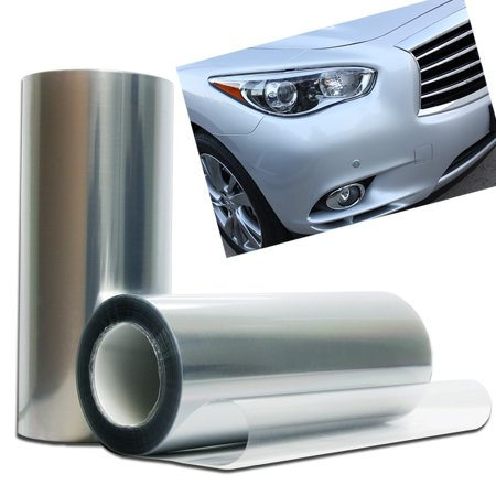 Optix Clear Bra Headlight Foglight Protection Guard Vinyl Tint Film - Clear Tint