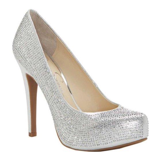 9d1938f4d0 Slip on construction Stiletto heel Covered platform. Women's Jessica Simpson  Parisah Platform Pump
