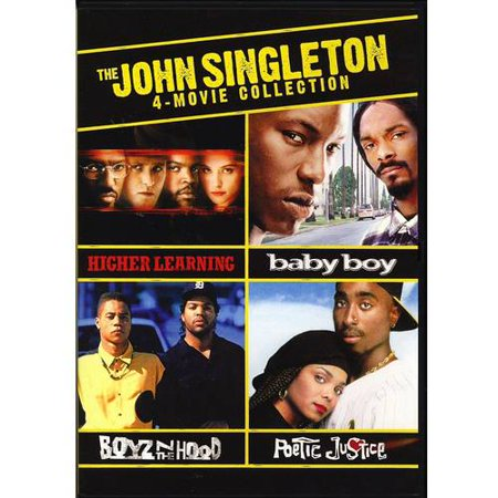 The John Singleton 4 Movie Collection  Higher Learning   Baby Boy   Poetic Justice   Boyz N The Hood  With Instawatch