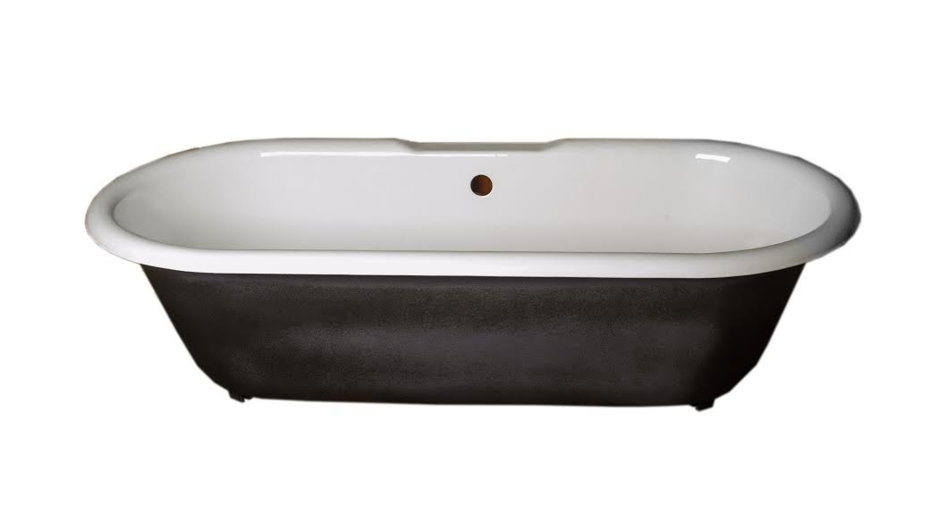 Picture of: Primed Black Cast Iron Clawfoot Tub Feet Not Included Renovator S Supply Walmart Com Walmart Com