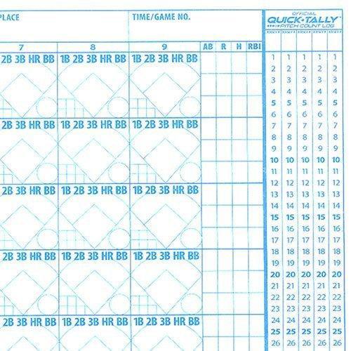 Ausdauertraining Rawlings System 17 Baseball/Softball Scorebook