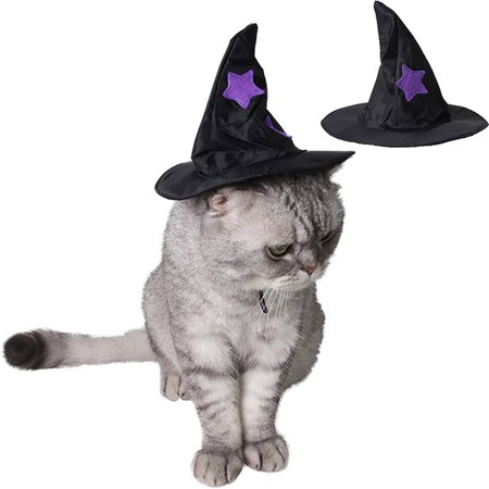 Halloween Pet Hat,Legendog Funny Stylish Decorative Dog Party Hat Cat Hat Pet Costume Hat Pet Accessories Outfit for Wizard Cosplay