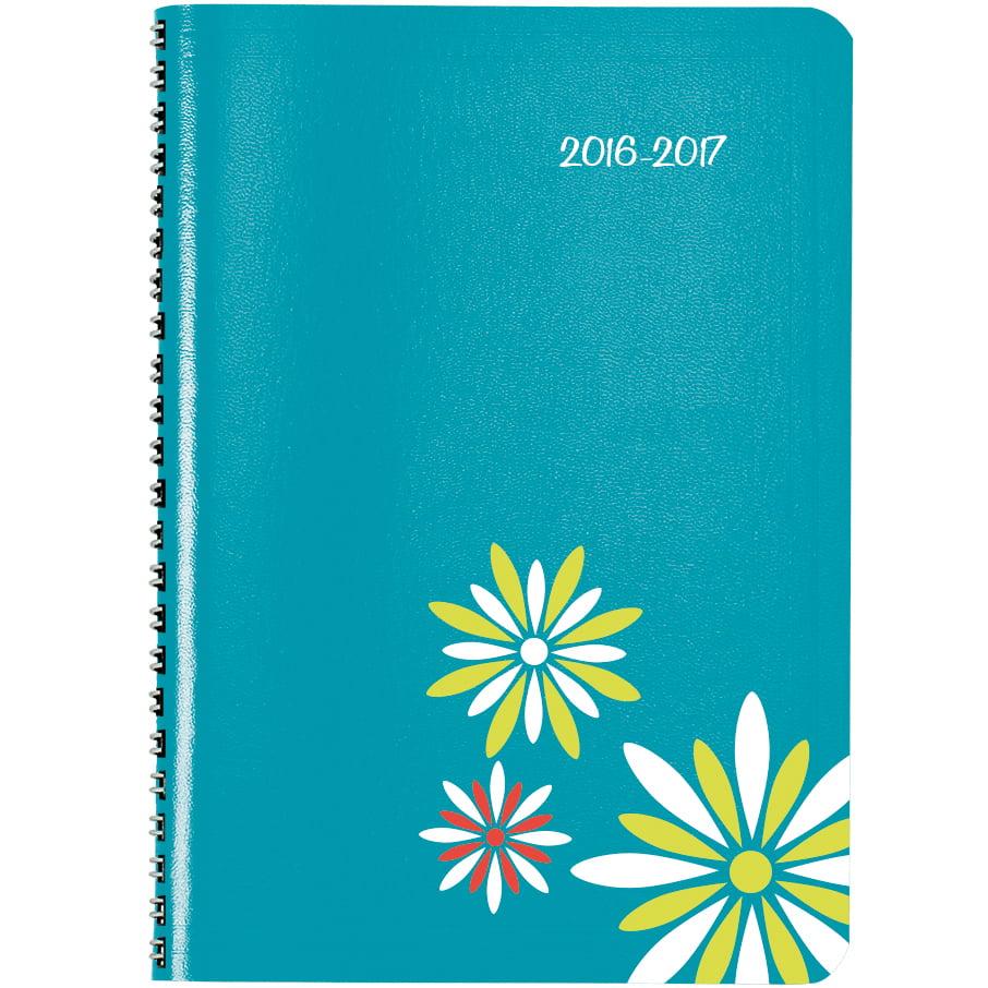 2016 17 academic planner 8 x5 aqua