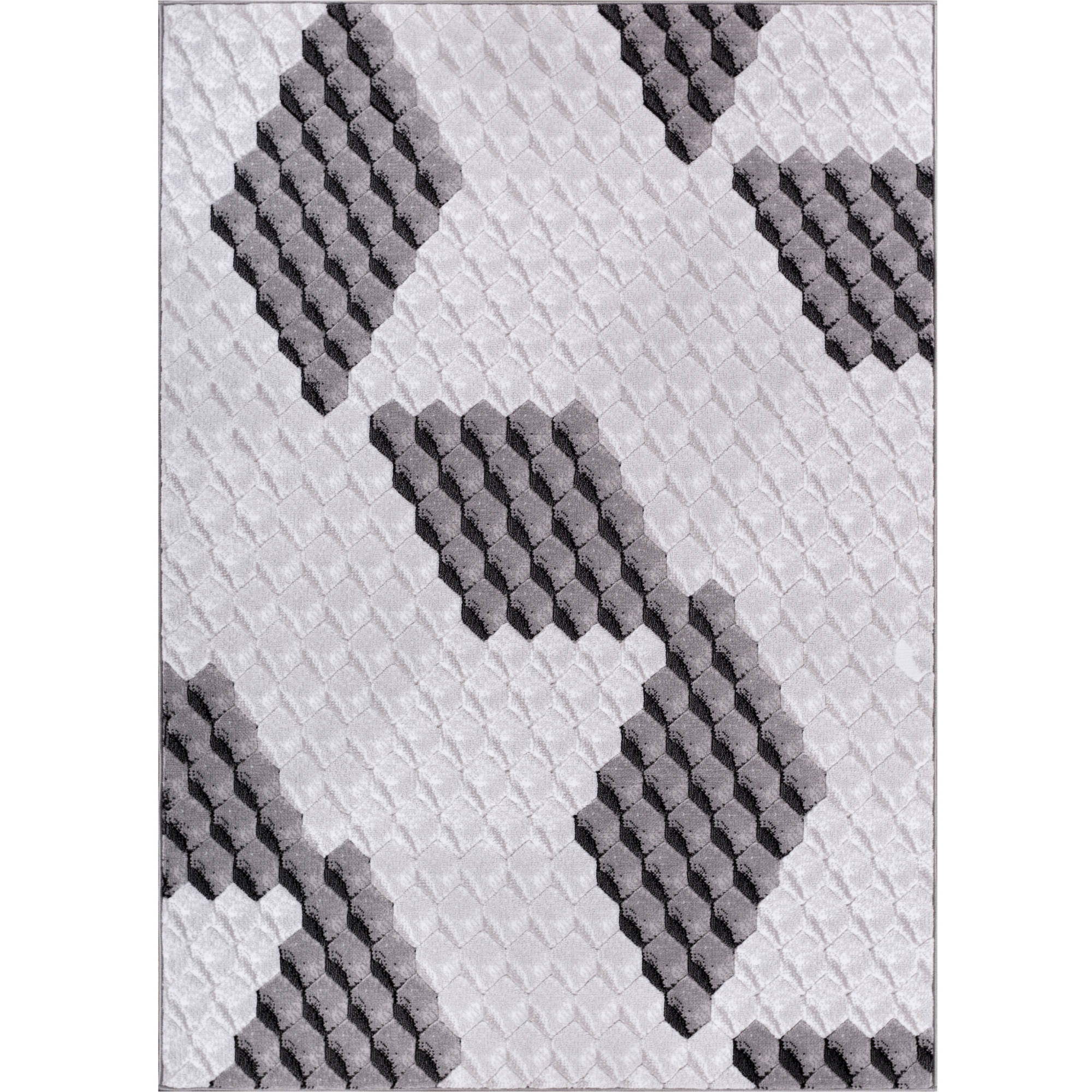 Well Woven Dulcet Goodness Modern Area Rug, Black