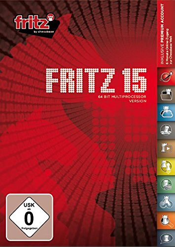 Fritz 15 Chess Playing Software Program by ChessCentral