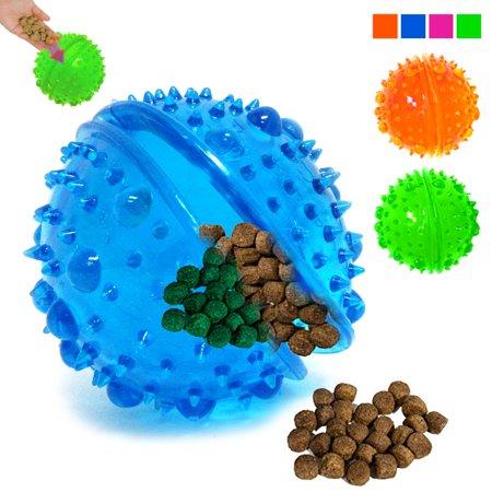 Iq Ball 2 Halloween (2 Pack Pet Dog Toy Tricky Treat Ball Fun Interactive Chew IQ Food Dispenser)