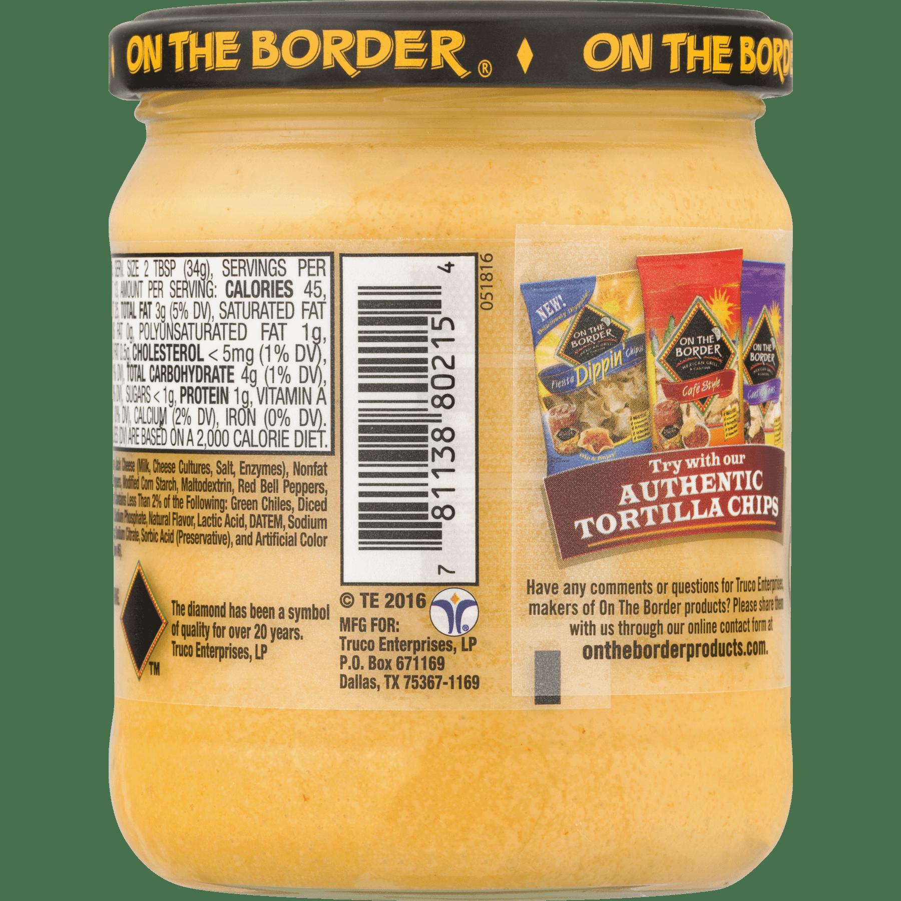 truco enterprises on the border salsa con queso 155 oz walmartcom