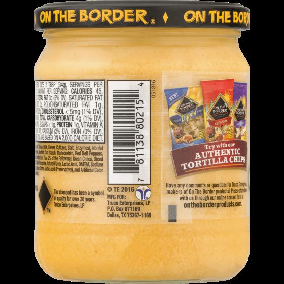 Truco Enterprises On The Border Salsa Con Queso 15 5 Oz Walmart Com