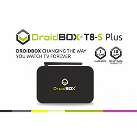 DroidBOX T8-S Plus with IR Remote Android 5 1 1 Powered Mini