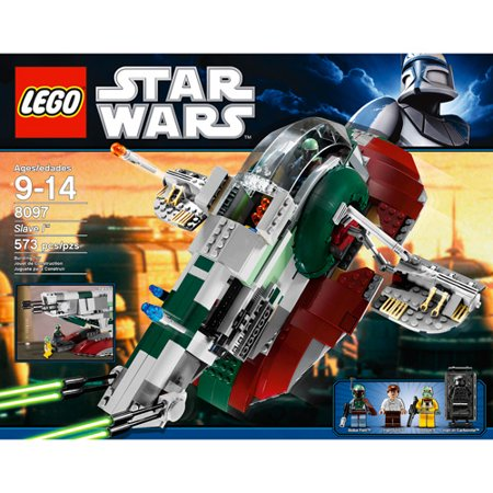 Lego Star Wars Classic Slave I 7144 100 Complete Winstructions No