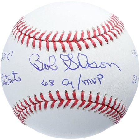 Bob Gibson St. Louis Cardinals Autographed Baseball with Multiple Stat Inscriptions - #12 of a Limited Edition of 12 - Fanatics Authentic Certified Bob Gibson Autographed Baseball