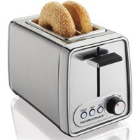 Refurbished Hamilton Beach Modern Chrome 2-Slice Toaster | Model# R22781
