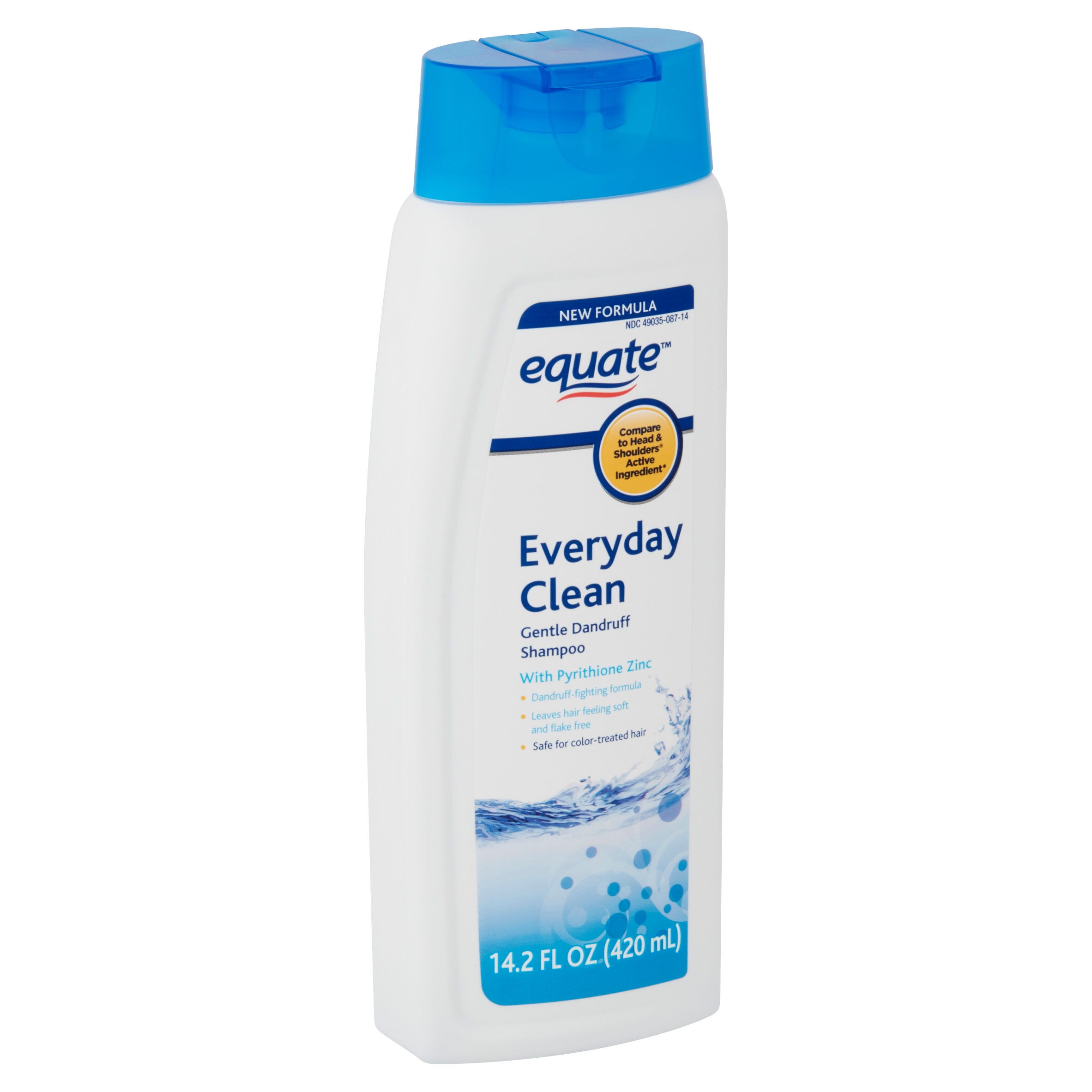 Equate Everyday Clean Gentle Dandruff Shampoo, 14.2 fl oz