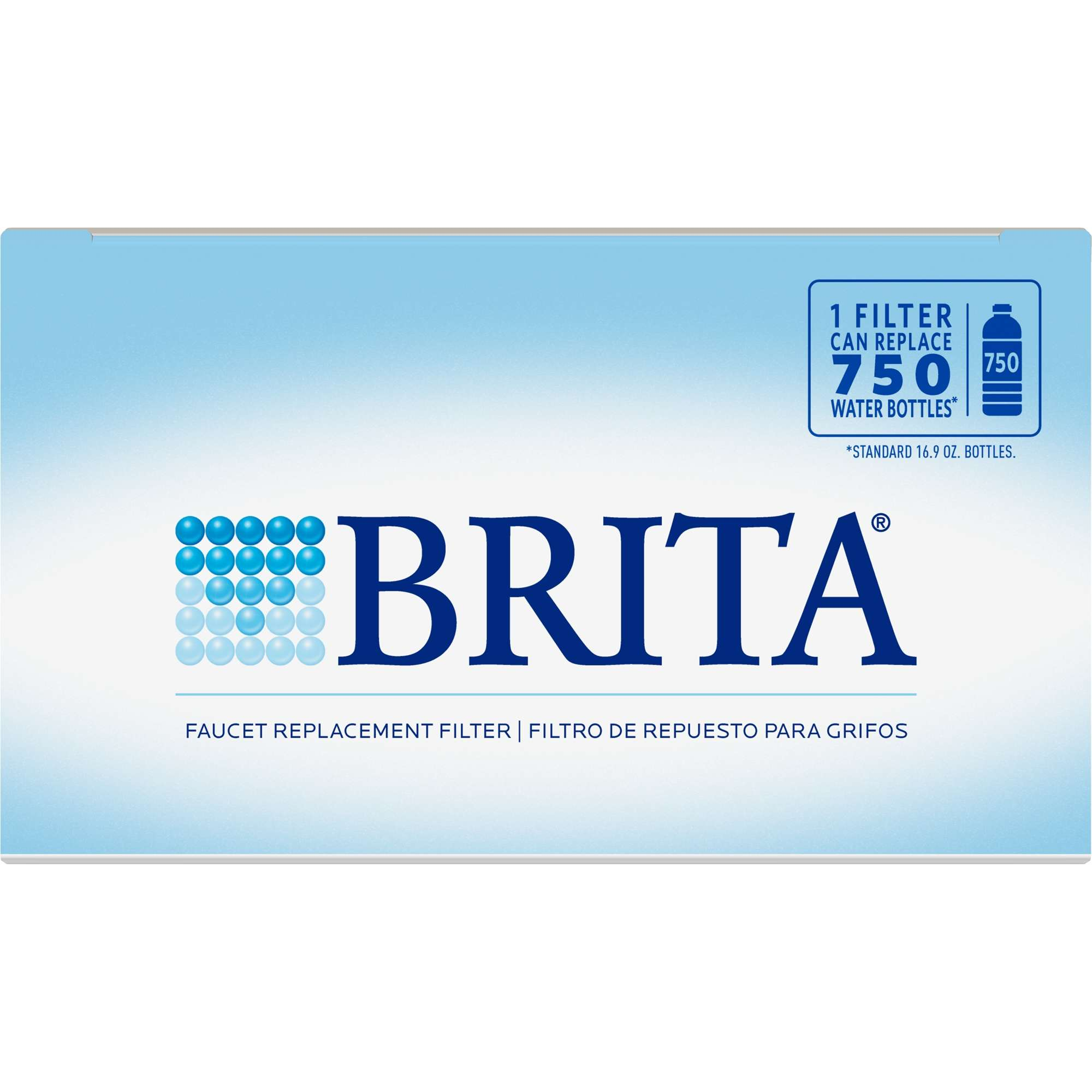 Brita On Tap Faucet Water Filter System Replacement Filters, White ...