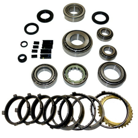 T56 Transmission Bearing/Seal Kit w/Synchro Rings 97-07 Chevrolet Corvette  6-Speed Manual Trans Single-Piece Reverse Synchro Ring USA Standard Gear
