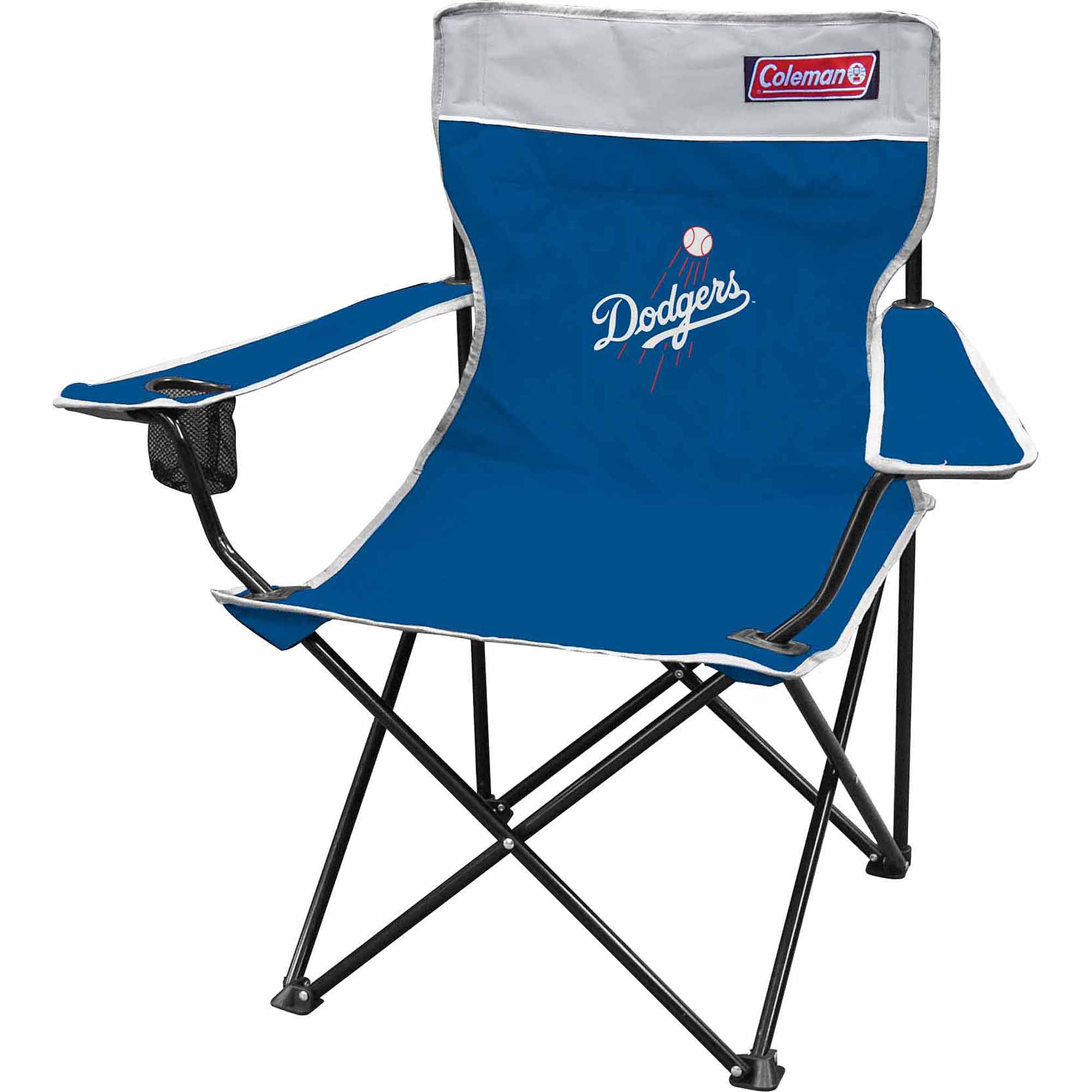 Coleman MLB Los Angeles Dodgers Quad Chair