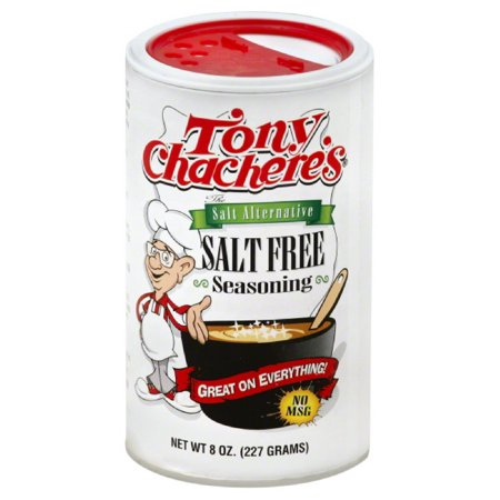 Tony Chacheres Salt Free Seasoning  8 Oz