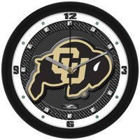 Suntime ST-CO3-COB-CFCLOCK Colorado Buffaloes-Carbon Fiber Textured Wall Clock