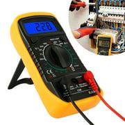 HOTBEST LCD Multimeter Voltmeter Ammeter AC DC OHM Volt Tester Test Current XL830L Pocket Digital Mini Voltage Home Measuring Tools(NO Battery)
