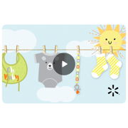 Baby Shower Walmart eGift Card