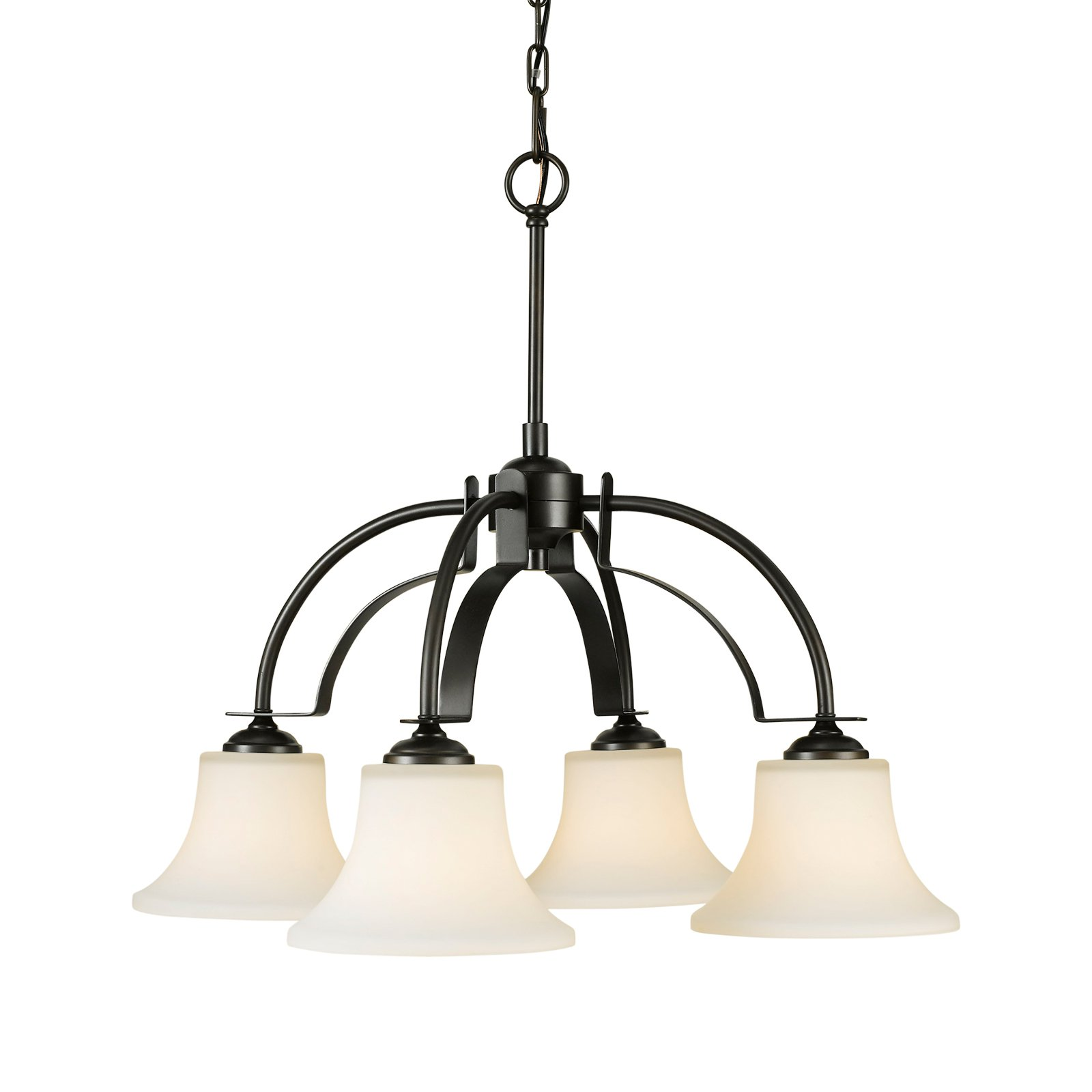 Feiss Barrington Chandelier 26W in. Oil Rubbed Bronze by Murray Feiss