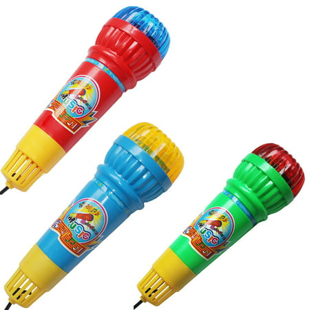 Echo Microphone Mic Voice Changer Toy Gift Birthday Present Kids Party - Echo Microphones