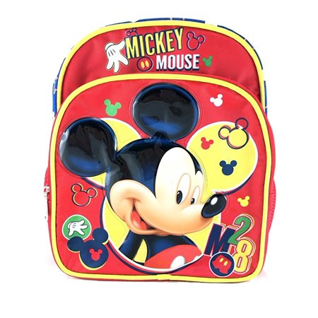 Mini Backpack - Disney - Mickey Mouse Red 3D 10