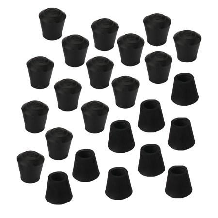 Rubber Leg Caps End Tip Furniture Feet Protector 10mm 3/8