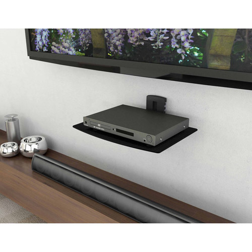 Sonax DVD Wall Shelf, Black