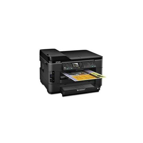 Epson WorkForce WF-7520 Wireless All-in-One Wide-Format Color Inkjet Printer, Scanner, Copier, Fax... by Epson
