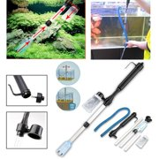 Jeteven Auto Aquarium Gravel Battery Fish Tank Vacuum Siphon Cleaner Pump Water Filter