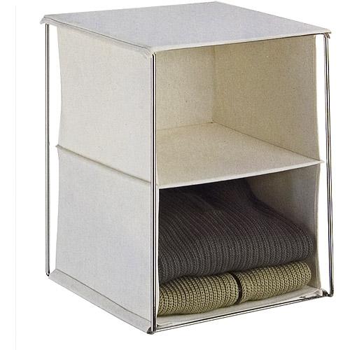 Neu Home Canvas 2-Pocket Rack