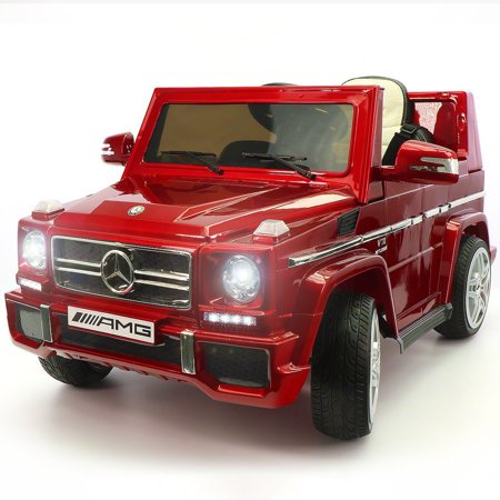 Mercedes Amg Wheel - 2019 Mercedes Benz G65 AMG Upgraded Version 12V Ride On Toy Car LED Kids Battery Powered MP3 With Remote Control