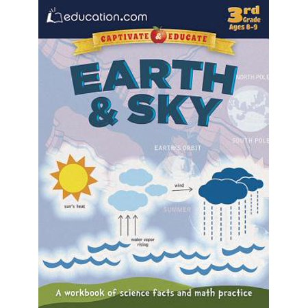 Earth & Sky : A Workbook of Science Facts and Math Practice (Math Fact Family)