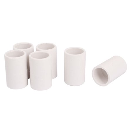 20mm drinking water pipe tube straight pvc u fitting adapter connector 6pcs. Black Bedroom Furniture Sets. Home Design Ideas