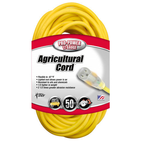 Coleman Cable All-Weather Extension Cord
