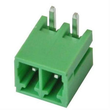 Imo Precision Controls Terminal Block Pcb Horizontal 2 Pole 3 5Mm Pitch 2 Pack