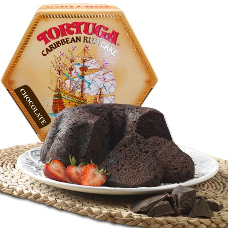 Tortuga Caribbean Rum Cake, 4 ounce Chocolate Flavored ()