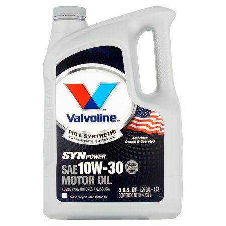 Valvoline Synpower Full Synthetic Sae 10w 30 Motor Oil 5qt