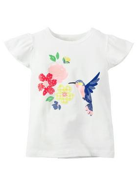 b0f1858018c0 Carter s Toddler Girls T-Shirts   Tank Tops - Walmart.com