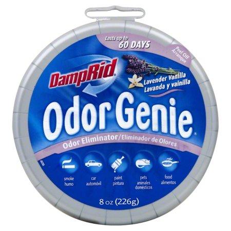 DampRid Odor Genie Lavender Vanilla 8 oz, Odor Eliminator for Cars, RVs &  Home - Old Packaging