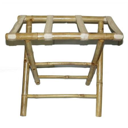 Bamboo54 5476 Bamboo Luggage Rack