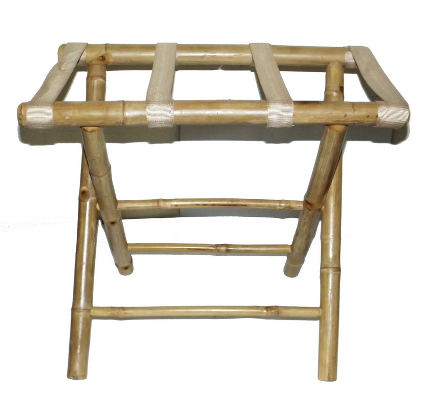 Bamboo54 5476 Bamboo Luggage Rack