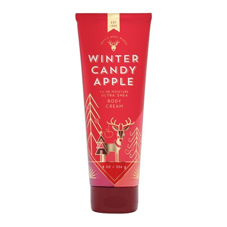 Bath & Body Works Winter Candy Apple 8.0 oz Ultra Shea Body - Apple Store Bath