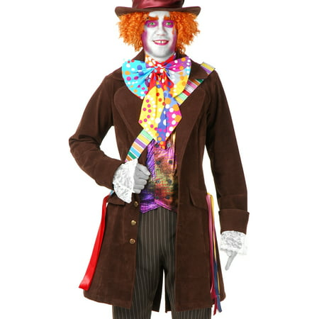 Adult Mens Alice in Wonderland Mad Hatter Costume
