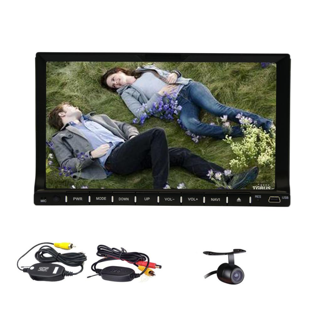 Eincar 2 din car DVD player with bluetooth  car radio with FM/AM car stereo touch screen