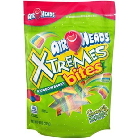 Airheads Xtremes Rainbow Berry Candy Bites, 9 Oz.