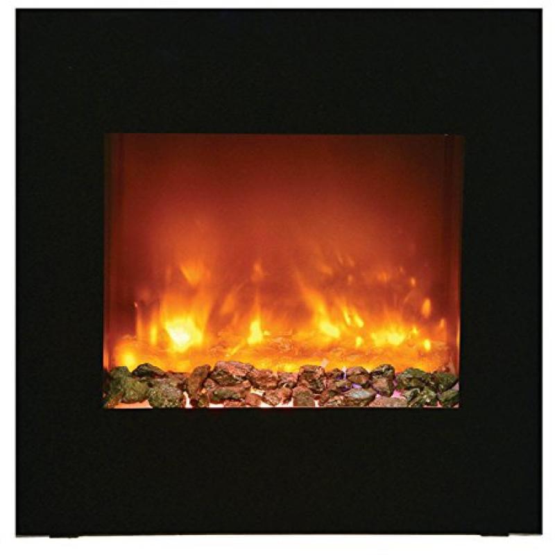 """Zero Clearance Electric Fireplace w/ 'Portrait' 24"""" x 28"""" Surround"""